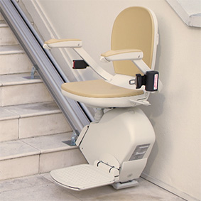 san francisco electric stairlifts motorized stairchair indoor outdoor exterior curved stair lifts