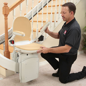 Stair Lift San Francisco Installer Stairlift Technician Installation.