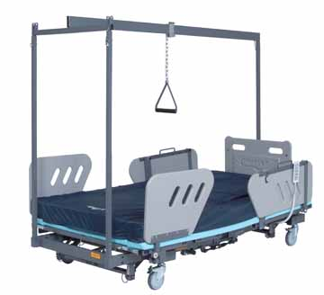 heavy duty extra large wide obesity hospital medical bariatric sosmobility beds