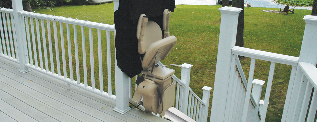 SOS MOBILITY OUTDOOR OUTSIDE EXTERIOR STAIR LIFTS