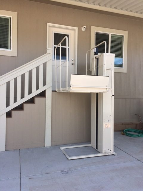NOW! For The Best Price, Quality, Guarantee, Service And Selection On  Electric Homecare Vertical Platform Lifts For The San Francisco CA Bay  Area: MacsPL50 ...